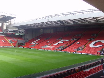 Top 10 Football Stadiums of the World The Kop