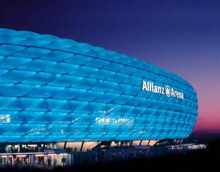 Top 10 Football Stadiums of the World Allianz Arena