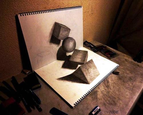 beautiful 3d drawing