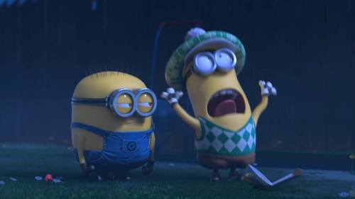 Scared Minions - Despicable me 2