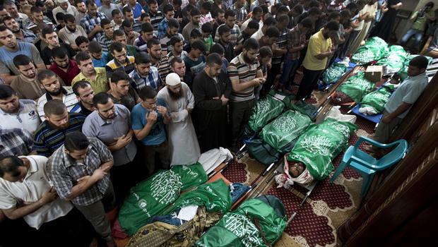 Israel attacks palestine (1)