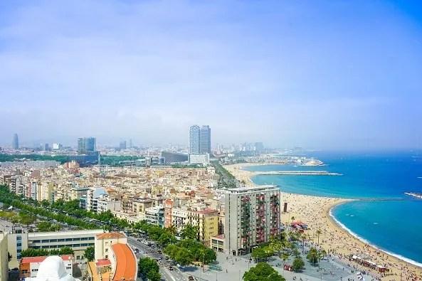 Barcelona Gay Beaches in europe