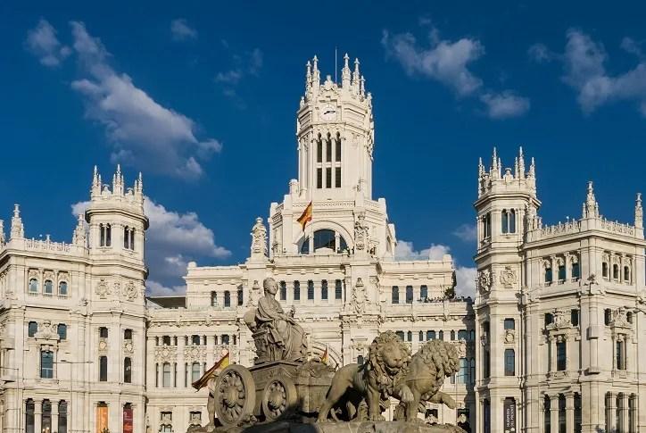 palace of cibeles madrid 2 day itinerary