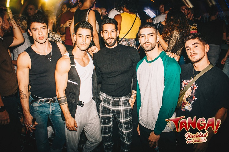gay bars in madrid tanga