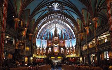 Notre-Dame Basilica in Montreal