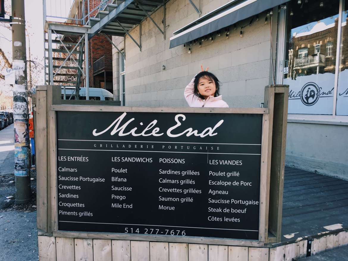 Mile End in Montreal