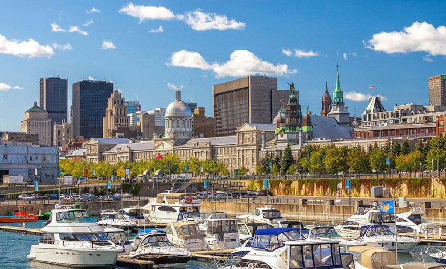 Quays of the Old Port in Montreal