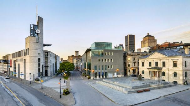 Pointe a Calliere in Montreal