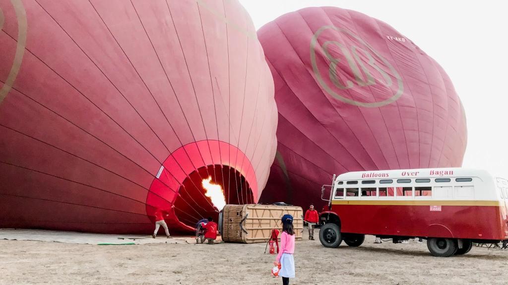 Balloons Over Bagan - Myanmar
