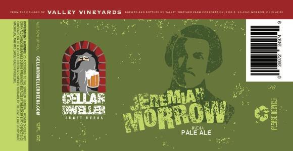 Jeremiah Morrow Beer Label