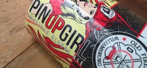 Old Firehouse PinUp Girl Blonde