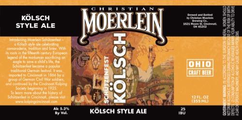 Moerlein-Schutzenfest-Label