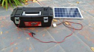 DIY Portable Solar Power Supply The Goby
