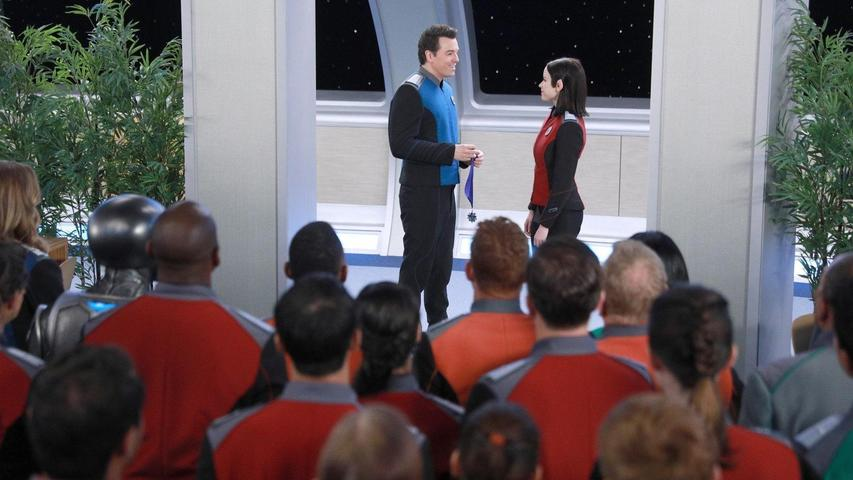 """The Orville 1x02 """"Command Performance"""""""