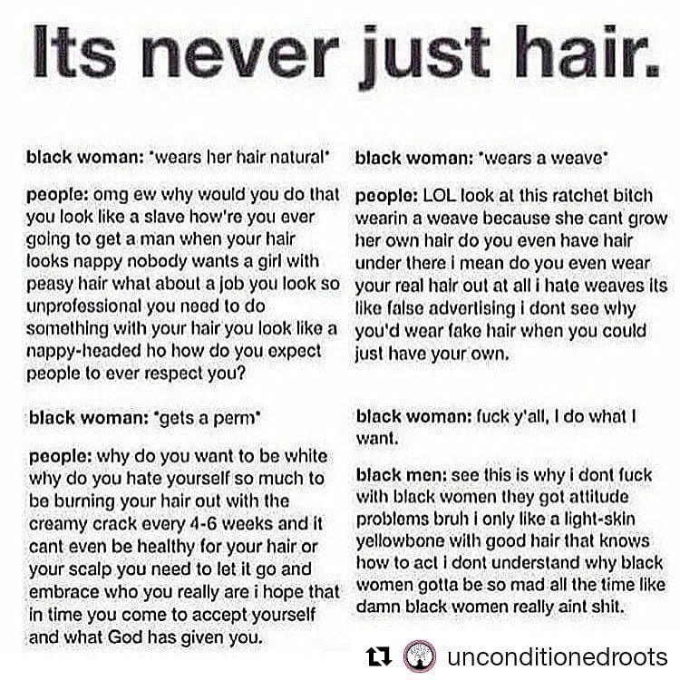 It's Never Just Hair