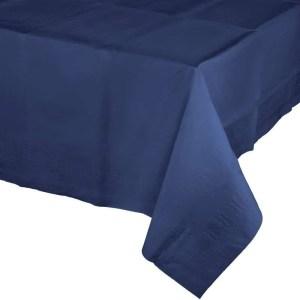 Mantel de Plástico Azul Oscuro