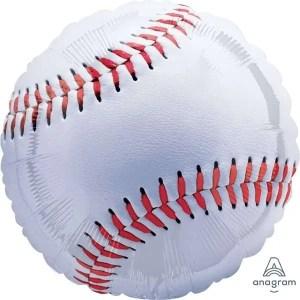 Globo Mylar Baseball