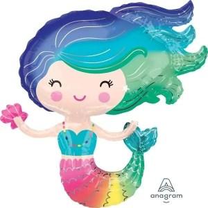 Globo Mylar Mermaid Gigante