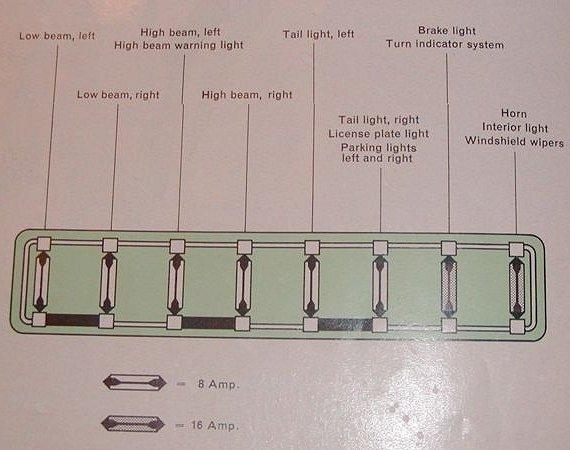 vw beetle wiring diagram 1973 2002 toyota tacoma 1966 bus (usa) | thegoldenbug.com