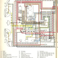 Vw Wiring Diagram Alternator Stereo Wire 1970 Bus | Thegoldenbug.com