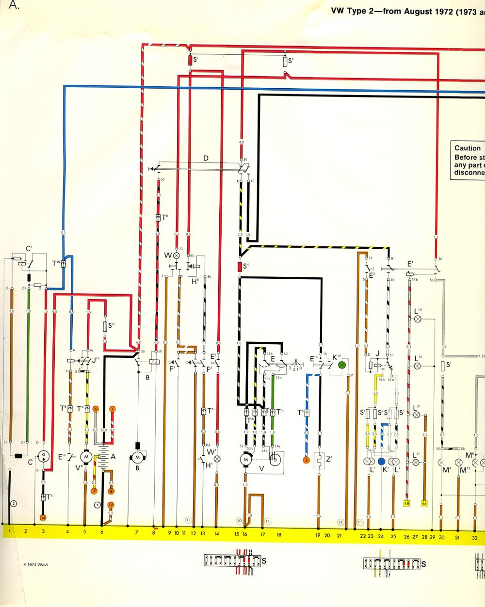 medium resolution of 1973 74 bus wiring diagram