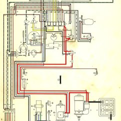 Vw Beetle Wiring Diagram 2000 2003 Ford Focus Svt Stereo 1962 Thegoldenbug
