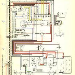 1967 Volkswagen Wiring Diagram 5 Wire Ignition Switch Beetle Usa Thegoldenbug