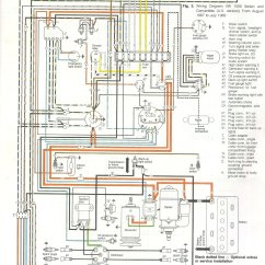 1970 Beetle Wiring Diagram Yamaha G1 Electric 1969 71 Thegoldenbug