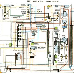 1976 Corvette Dash Wiring Diagram 3 Position Rotary Switch 1971 Beetle (usa) | Thegoldenbug.com