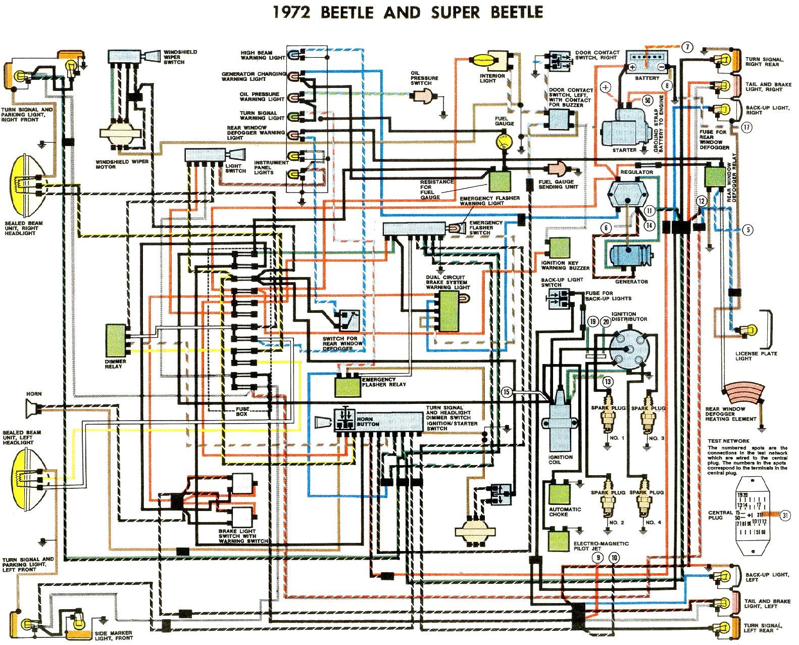 11x17 color wiring diagram 1971 vw super beetle bug wiring library volkswagen beetle diagrams vw beetle wiring diagram 1974 1961 vw bug wiring