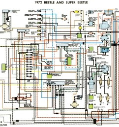 72 vw bug wiring diagram wiring diagram user1972 beetle wiring diagram thegoldenbug com 72 vw beetle [ 1582 x 1276 Pixel ]