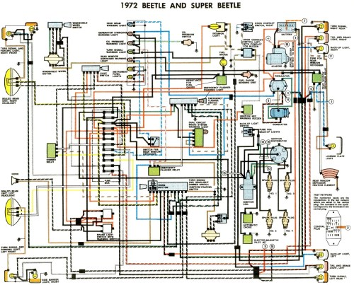 small resolution of 1972 beetle wiring diagram