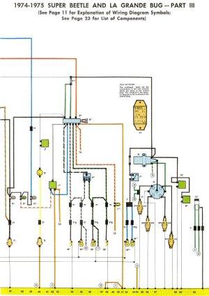197475 Super Beetle Wiring Diagram   TheGoldenBug