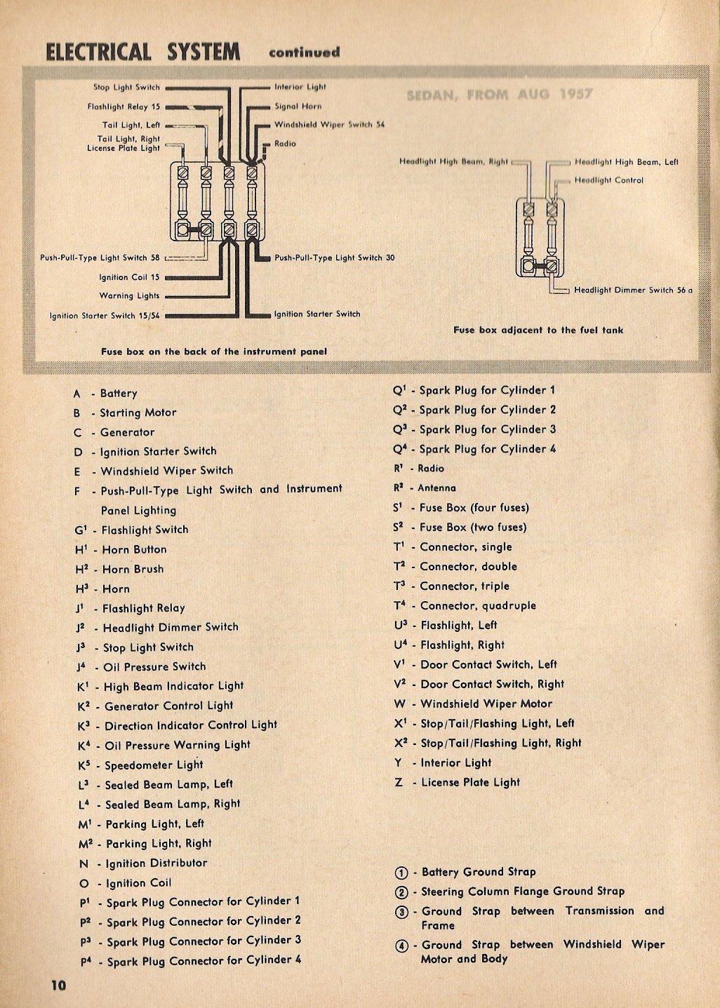 1971 Volkswagen Beetle Wiring Diagram 1957 Beetle Wiring Diagram Thegoldenbug Com