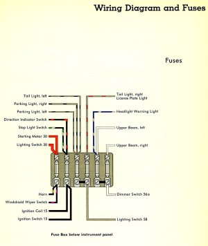 1959 Bus Wiring Diagram | TheGoldenBug