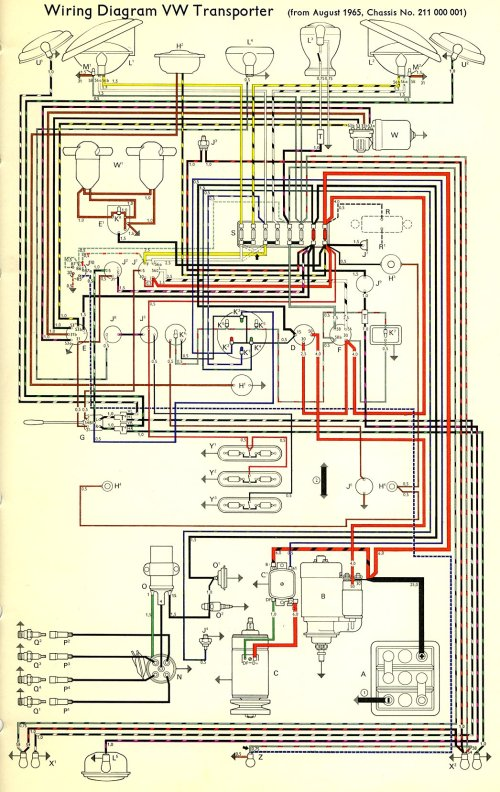small resolution of 1966 beetle wiring diagram