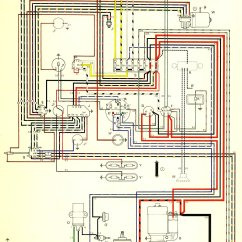 Wiring Connection Diagram Two Wire Alternator 1966 Bus Usa Thegoldenbug