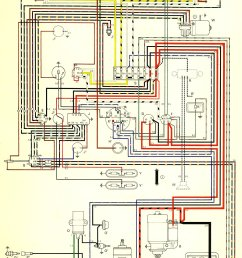 1966 bus wiring diagram usa thegoldenbug com rh thegoldenbug com 1968 vw wiring diagram for a [ 1036 x 1654 Pixel ]