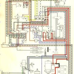 1967 Volkswagen Wiring Diagram 1990 Honda Crx Stereo Bus Usa Thegoldenbug