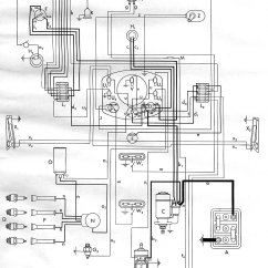 1972 Vw Bus Wiring Diagram Simple Car Diagrams 1953 | Thegoldenbug.com