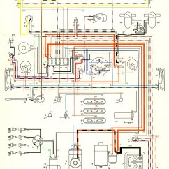 1970 Beetle Wiring Diagram Club Car Lights 1957 Bus | Thegoldenbug.com