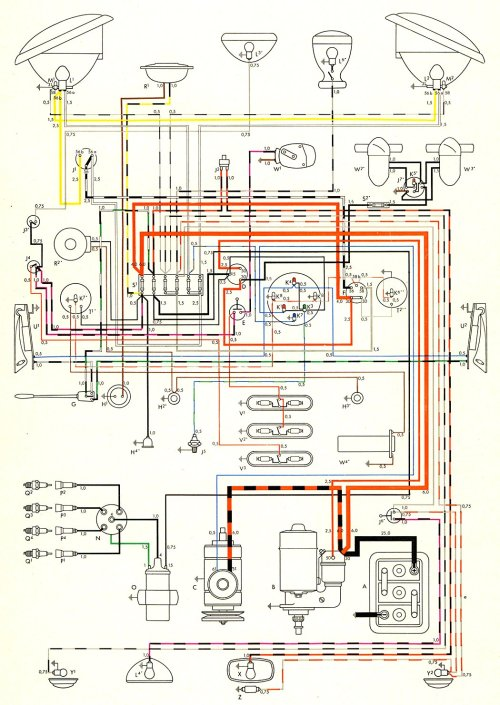 small resolution of volkswagen wiring diagram for dummy