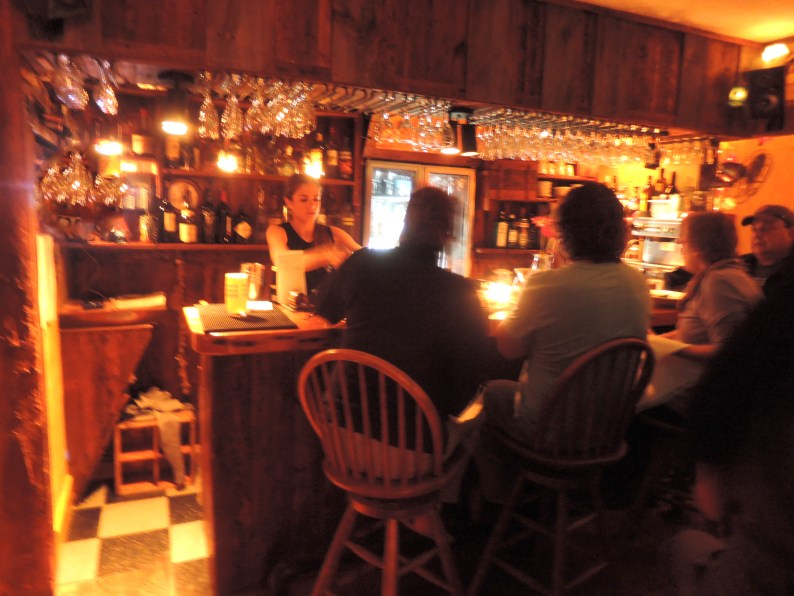 The bar room at The Treehouse
