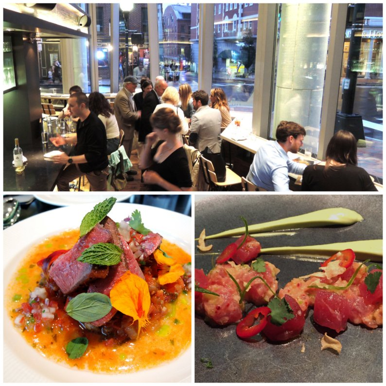 The spectacular space at Evo serves divine Mediterranean/Middle Eastern fare with chef Matt Ginn at the helm
