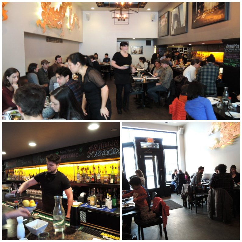 Quite a crowd convened at Bao Bao to sample Cooke's fine Asian fusion menu