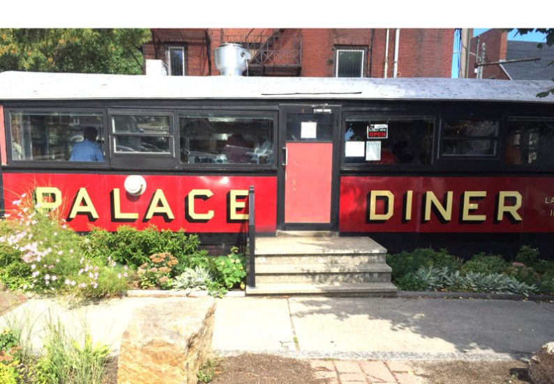 The vintage, classic Palace Diner