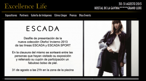 Escada Excellence Live TheGoldenStyle