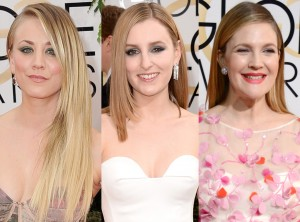 Red Carpet Trends from the 2014 Golden Peinados Lisos TheGoldenStyle