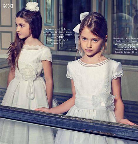Tendencias de vestidos primera comunión 2014 TheGoldenStyle el-corte-ingles-2014-flores