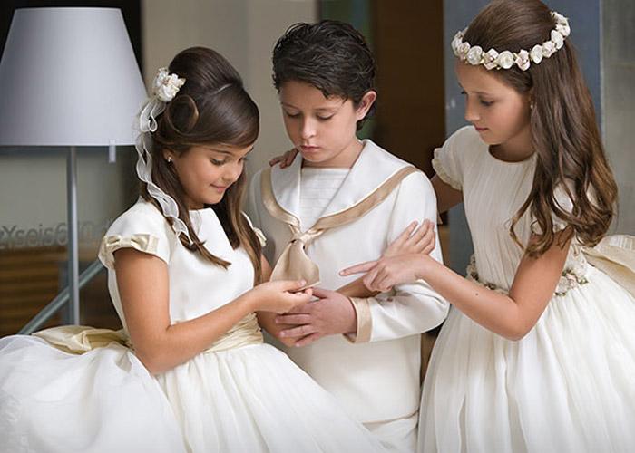 Tendencias de vestidos primera comunión 2014 TheGoldenStyle